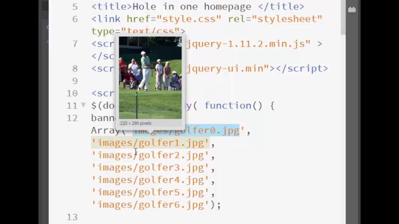 Rotating Graphics using Javascript