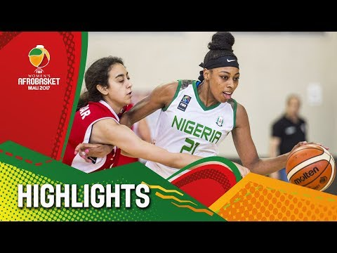Nigeria v Egypt - Highlights - FIBA Women's AfroBasket 2017