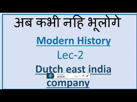 Capitalism and the Dutch East India Company   Lec-2