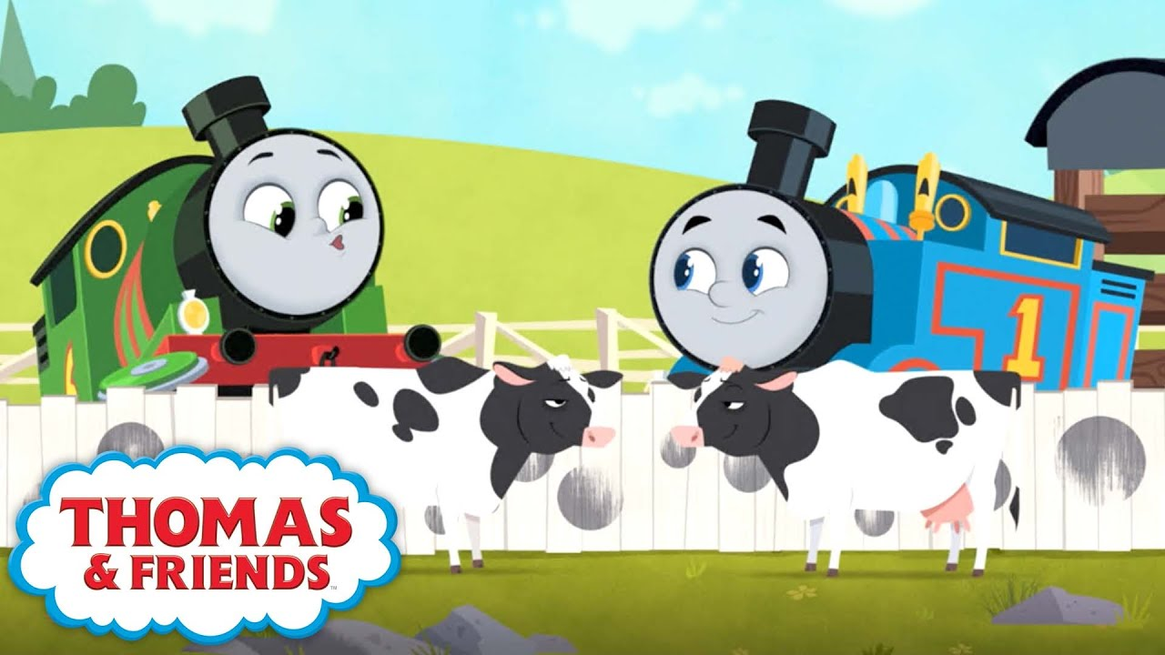 Thomas & Friends™ All Engines Go - Counting Cows + more Kids Cartoons