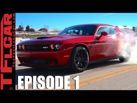 2016 Dodge Challenger Hellcat Burnout 0 60 Mph Mpg Review Vs Ep 1
