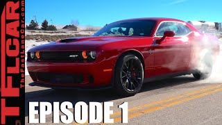 2016 Dodge Challenger Hellcat Burnout & 0-60 MPH & MPG Review - Hellcat VS. Ep.1