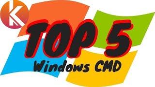 TOP 5 des commandes CMD pour gérer, nettoyer et réparer son ordinateur Windows PC