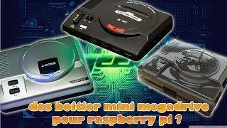 projet sigma et des boitiers mini megadrive pour raspberry pi ?
