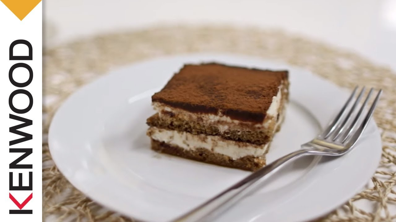 Tiramisu | Rezept Kenwood Chef - YouTube