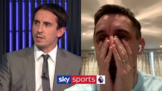 Gary Neville reacts to his MNF debut! | Off Script