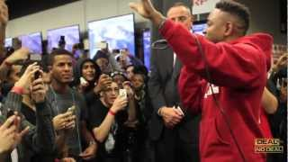 Kendrick Lamar & Jay Rock Perform Money Trees For The First Time in Best Buy, Union Sq.