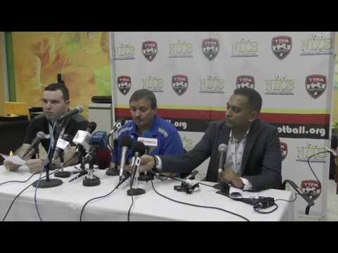 Costa Rica's Head Coach reacts to 2-0 victory over T&T