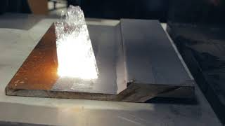 Removing Rust From Steel With A 2000 Watt Laser