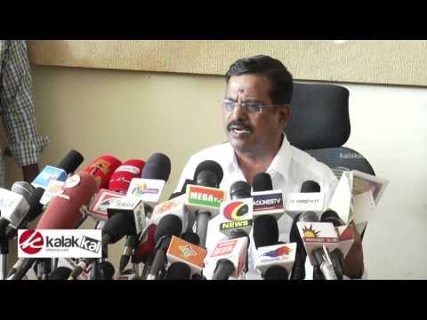 Kalaipuli S Thanu Talk about Theri Movie Issue