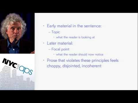 Steven Pinker: The Sense of Style
