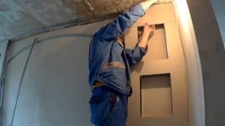 як зробити нішу в цегляній стіні