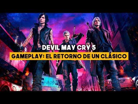 GAMEPLAY Devil May Cry 5 - Un CLÁSICO con CAMBIOS jugables thumbnail