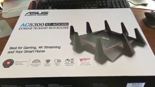 04.Asus AC5300 RT-AC5300 Router Unboxing & Setup