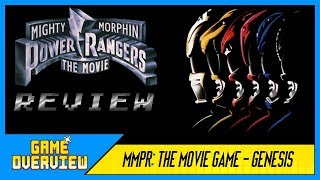 Game OverView - Power Rangers The Movie The Game The Review