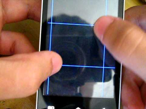 Motorola Backflip MB300 multitouch test