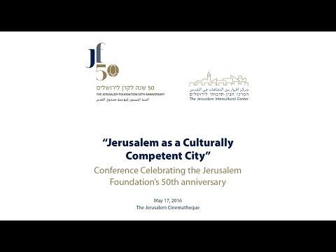 17.05.2016-Jerusalem as a Culturally Competent City