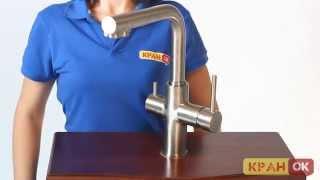 Видео обзор смесителя на две воды IMPRESE DAICY 55009S-F
