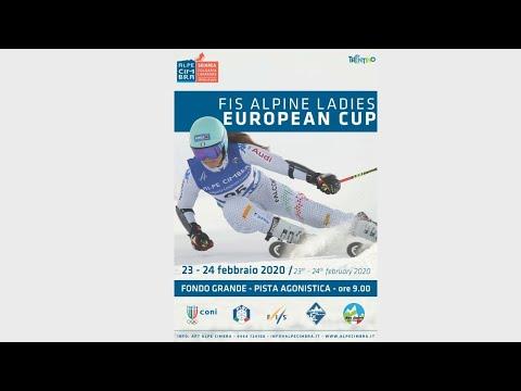 Alpe Cimbra European Cup Ladies Giant Slalom 2° Run