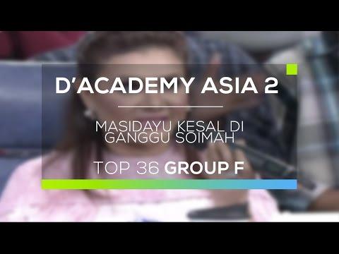 Masidayu Kesal Diganggu Soimah (D'Academy Asia 2)