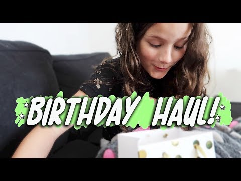 Birthday Haul (WK 400.3) | Bratayley