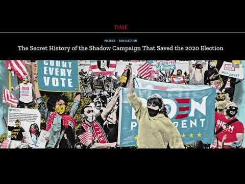 TIME Magazine Admits Elite Cabal STOLE the Election in a COUP Against Trump