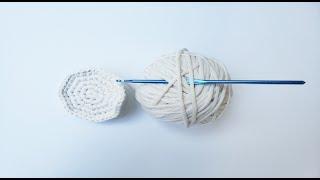 Вязание круга крючком для начинающих – видео мастер класса для начинающих.