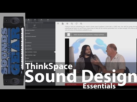 Review: ThinkSpace Education Sound Design Essentials Course - @SoundsAndGear