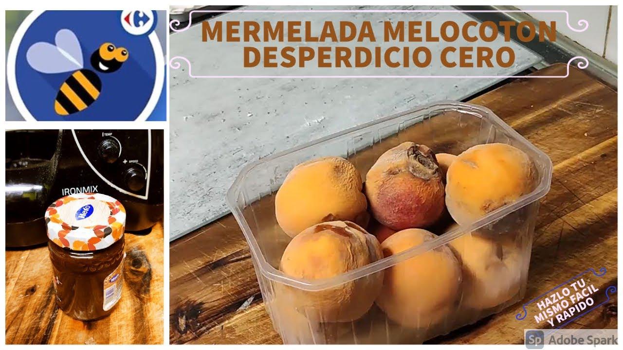 MERMELADA MELOCOTON DESPERDICIO CERO 1