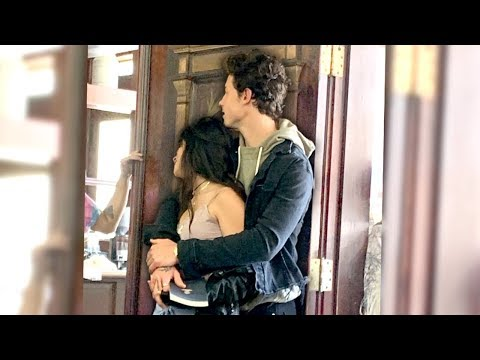 It&39;s happening Shawn Mendes & Camila Cabello were caught kissing
