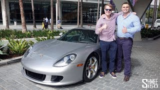 Taking His Porsche Carrera GT Supercar Shopping!