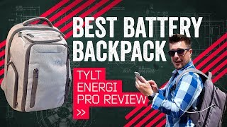 TYLT Energi Pro Review: Backpack? Battery? Both!