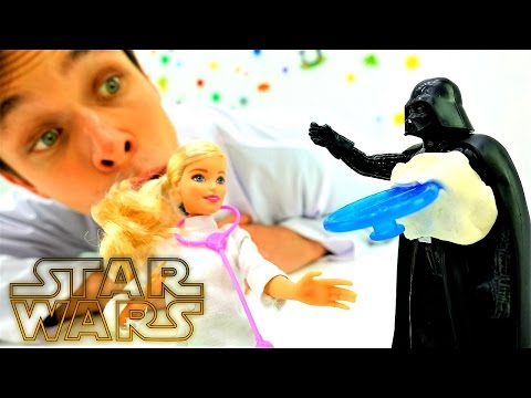 Звёздные Войны продолжаются!  Видео игрушки #СтарВарс #ДартВейдер ранен! Игры доктор