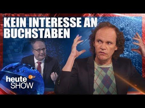 Bildungspolitik in Deutschland läuft schief (mit Olaf Schubert) | heute-show vom 13.04.2018