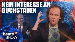 Was in der deutschen Bildungspolitik schief läuft (Olaf Schubert) | heute-show vom 13.04.2018