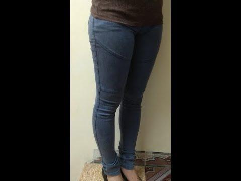 Hướng dẫn cắt quần legging, quần thun ôm. Part 1- Thân trước. How to cut legging
