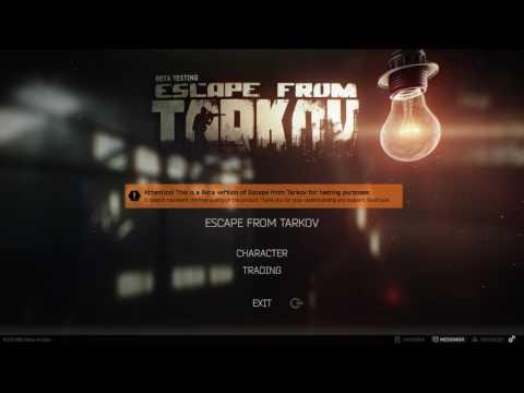 Escape from tarkov start standard edition