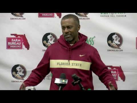 FSU head football coach Willie Taggart on loss to Notre Dame