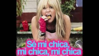 This Boy, That Girl/ Hannah Montana ft Iyaz en español (: