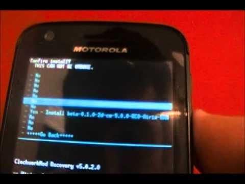 Installing Android 4.0.3 Ice Cream Sandwich on the Motorola Atrix