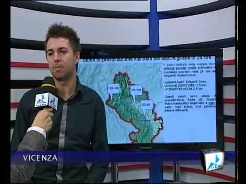 Rischio idrogeologico nel Vicentino 11 novembre 2012