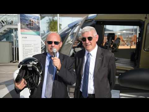 Paris Air Show | Helmet Scorpion by Thales