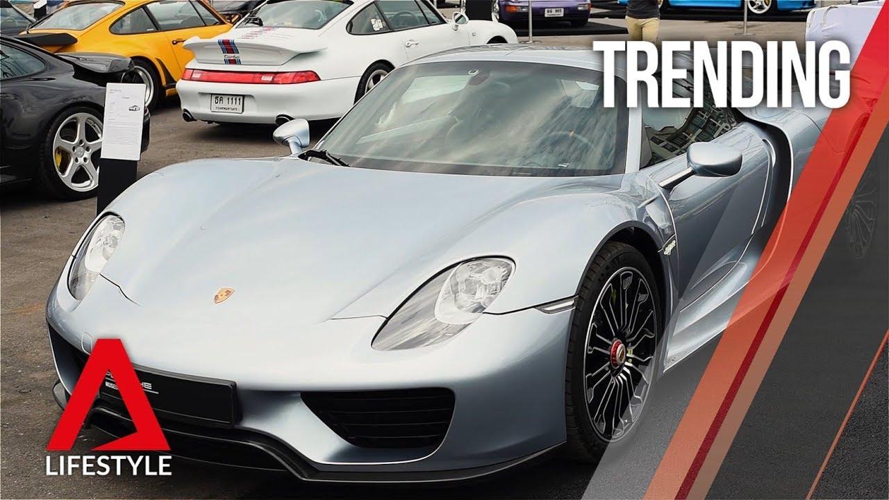 Porsche's 70th anniversary celebrations in Bangkok | CNA Lifestyle