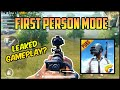 PUBG Mobile In First Person Mode? Leaked Gameplay Or Glitch?