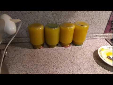 Натур продукт!!! Рецепт сока из тыквы!