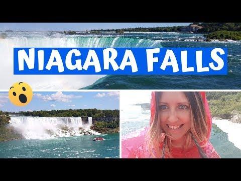 CASCATE DEL NIAGARA 💦 Esperienza Imperdibile! 😍 Niagara Falls Lato Canadese, Tour Da Toronto 🇨🇦