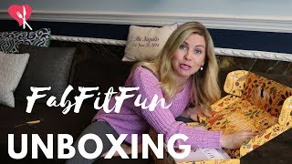Fab Fit Fun Unboxing  My First Box