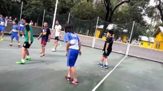 聖公會青衣主恩小學班際足球比賽2015