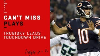 Trubisky Leads Impressive TD Drive!