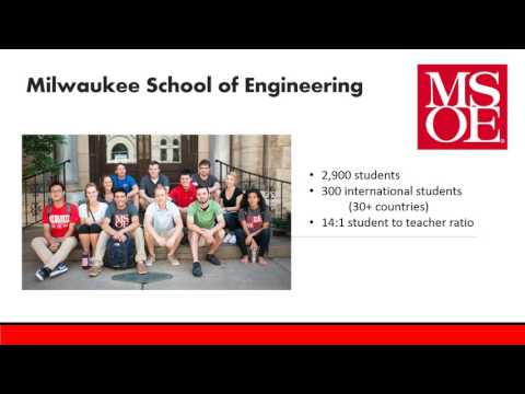 Study Abroad| Milwaukee School of Engineering Webinar @ Study Metro
